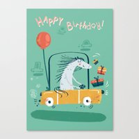 Happy Birthday! Canvas Print