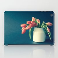 Thinking of You - Sending Tulips iPad Case