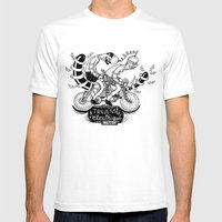 Tandem électrique Mens Fitted Tee White SMALL