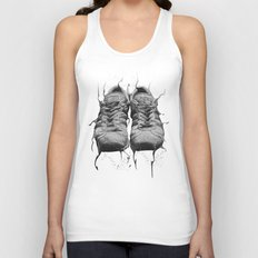 DARK SHOES Unisex Tank Top