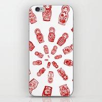 Matryoshkas'  Spiral iPhone & iPod Skin
