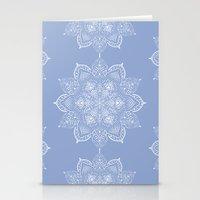Winter Spirit - Blue Stationery Cards