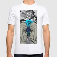Holy War Mens Fitted Tee Ash Grey SMALL
