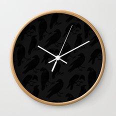 The Raven III Wall Clock
