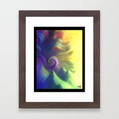 Toxic Framed Art Print