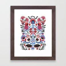 The Pug of Folk  Framed Art Print