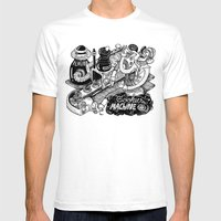 Cookies Machine Mens Fitted Tee White SMALL