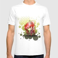 Valentina Mens Fitted Tee White SMALL