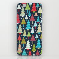 Christmas Trees iPhone & iPod Skin
