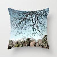 Mount Stewart Lake Throw Pillow