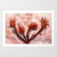 The Fireflowers Art Print