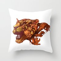 Power Of Unity Throw Pillow