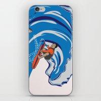 Pressing Waves iPhone & iPod Skin