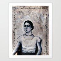 Drowning Sorrows  Art Print