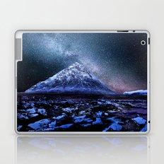 Milky Way Mountain Laptop & iPad Skin