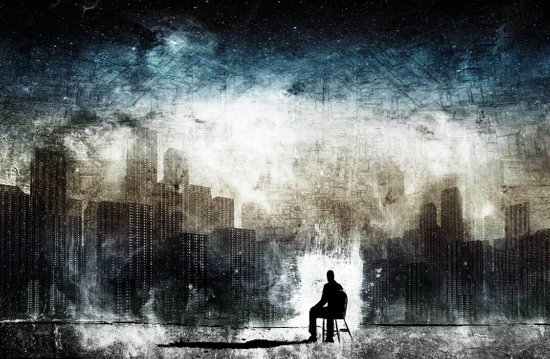 City Thoughts Art Print