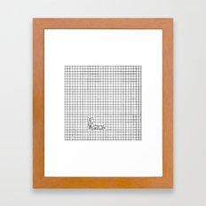 Haywire Framed Art Print