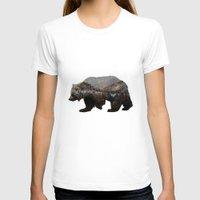 bear T-shirts featuring The Kodiak Brown Bear by Davies Babies