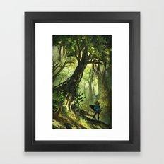 Faron Woods Framed Art Print