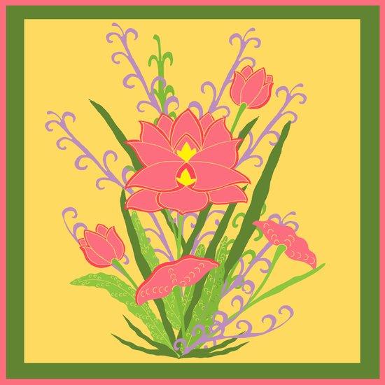 Indian Lotus Art Print
