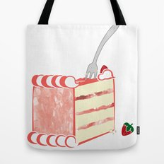 Creative Strawberry Shortcake Tote Bag