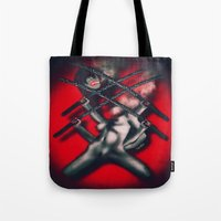 YOU ARE CUT OFF Tote Bag