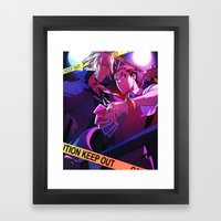 Guilty Love Framed Art Print