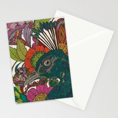 Alexis and the flowers Stationery Cards