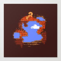 Brick Breaker Canvas Print