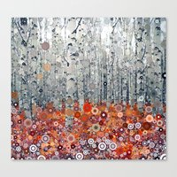 :: Run Free Woods :: Canvas Print