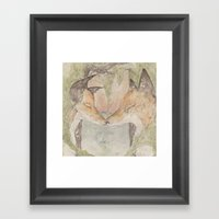 Fox [[ 3 ]] Framed Art Print