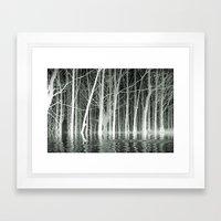 SPIRITS OF WINTER Framed Art Print