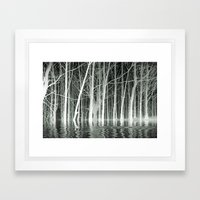 SPIRITS OF WINTER Framed Art Print