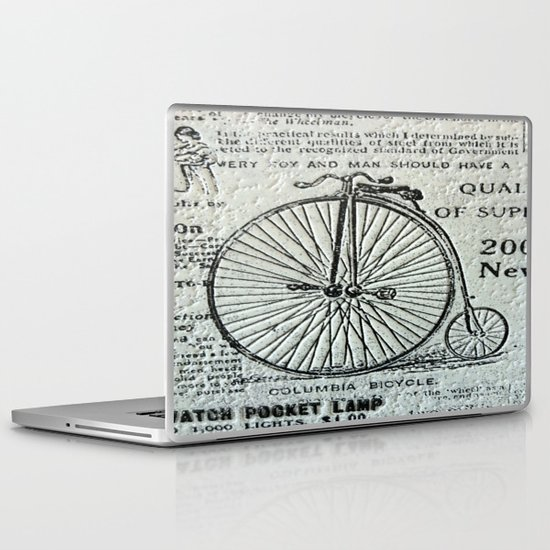 Old Times Laptop & iPad Skin