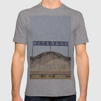 Metronom Mens Fitted Tee Athletic Grey SMALL