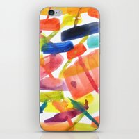 Abstract Brushstrokes iPhone & iPod Skin