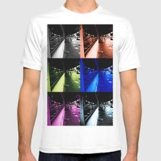 Reflections of faded glamour Mens Fitted Tee White SMALL