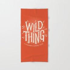 Wild Thing Hand & Bath Towel