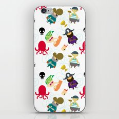 the crew ( pattern version ) iPhone & iPod Skin