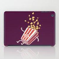 Popcorn Fall iPad Case