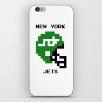 Old School New York Jets iPhone & iPod Skin