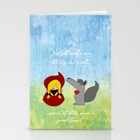 Little Red Riding Hood &… Stationery Cards