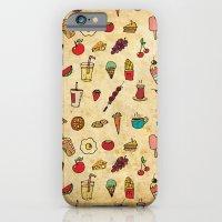 Food Love Pattern iPhone 6 Slim Case