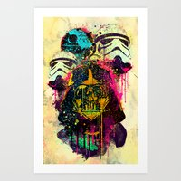 EMPIRE POP Art Print