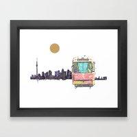 505 Street car Framed Art Print