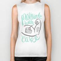 Motivate with Cake Biker Tank