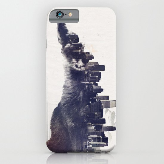 Fox from the City iPhone & iPod Case