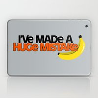 A Huge Mistake Laptop & iPad Skin
