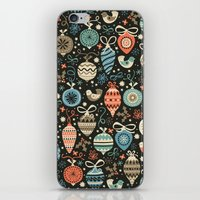Festive Folk Charms iPhone & iPod Skin