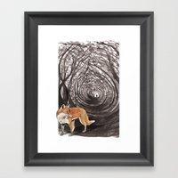 I Am A Fox Framed Art Print